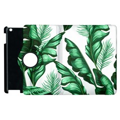 Banana Leaves And Fruit Isolated With Four Pattern Apple Ipad 3/4 Flip 360 Case