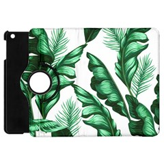 Banana Leaves And Fruit Isolated With Four Pattern Apple Ipad Mini Flip 360 Case by Celenk
