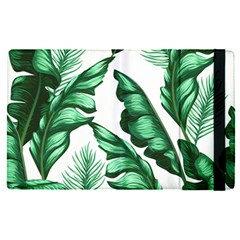 Banana Leaves And Fruit Isolated With Four Pattern Apple Ipad Pro 9 7   Flip Case by Celenk