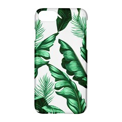 Banana Leaves And Fruit Isolated With Four Pattern Apple Iphone 7 Hardshell Case by Celenk