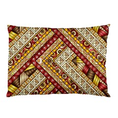 Ethnic Pattern Styles Art Backgrounds Vector Pillow Case (two Sides)