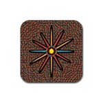 Star Rubber Coaster (Square)  Front