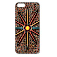 Star Apple Seamless Iphone 5 Case (clear) by linceazul