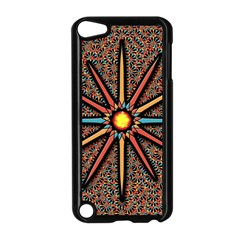 Star Apple Ipod Touch 5 Case (black) by linceazul