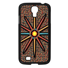 Star Samsung Galaxy S4 I9500/ I9505 Case (black) by linceazul