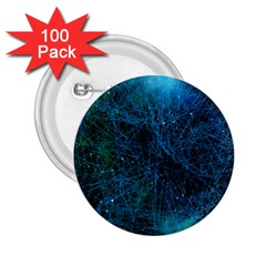 System Network Connection Connected 2 25  Buttons (100 Pack)  by Celenk
