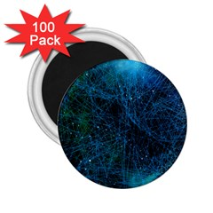 System Network Connection Connected 2 25  Magnets (100 Pack)  by Celenk