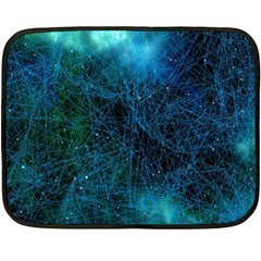 System Network Connection Connected Fleece Blanket (mini)