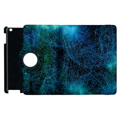 System Network Connection Connected Apple Ipad 2 Flip 360 Case by Celenk