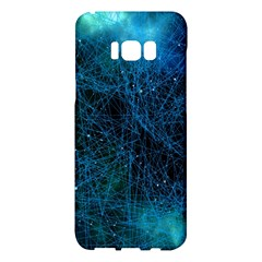 System Network Connection Connected Samsung Galaxy S8 Plus Hardshell Case  by Celenk