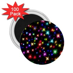 Fireworks Rocket New Year S Day 2 25  Magnets (100 Pack)  by Celenk