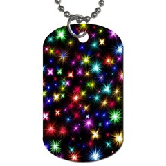 Fireworks Rocket New Year S Day Dog Tag (one Side) by Celenk