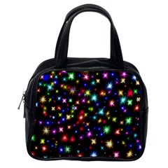 Fireworks Rocket New Year S Day Classic Handbags (one Side)