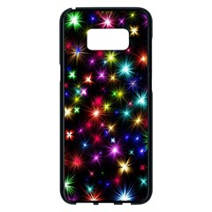 Fireworks Rocket New Year S Day Samsung Galaxy S8 Plus Black Seamless Case