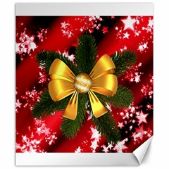 Christmas Star Winter Celebration Canvas 20  X 24   by Celenk
