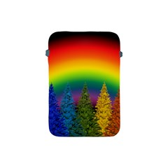 Christmas Colorful Rainbow Colors Apple Ipad Mini Protective Soft Cases by Celenk