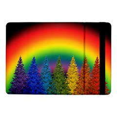 Christmas Colorful Rainbow Colors Samsung Galaxy Tab Pro 10 1  Flip Case