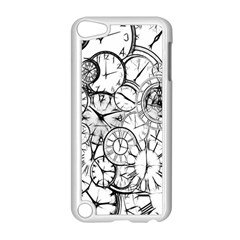 Time Clock Watches Time Of Apple Ipod Touch 5 Case (white)