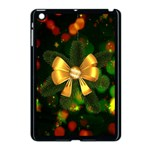 Christmas Celebration Tannenzweig Apple iPad Mini Case (Black) Front