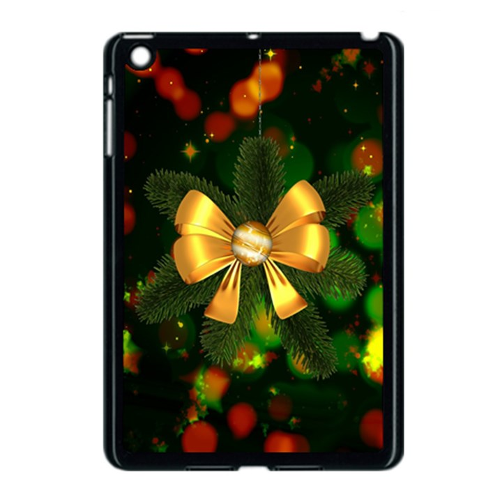Christmas Celebration Tannenzweig Apple iPad Mini Case (Black)