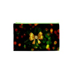 Christmas Celebration Tannenzweig Cosmetic Bag (xs) by Celenk