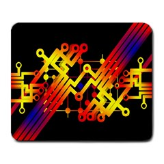Board Conductors Circuits Large Mousepads by Celenk