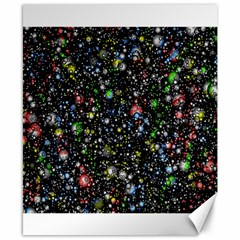 Universe Star Planet All Colorful Canvas 8  X 10