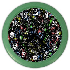 Universe Star Planet All Colorful Color Wall Clocks by Celenk