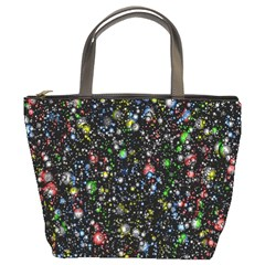Universe Star Planet All Colorful Bucket Bags