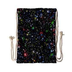 Universe Star Planet All Colorful Drawstring Bag (small) by Celenk