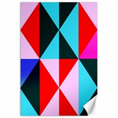 Geometric Pattern Canvas 20  X 30