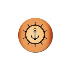 Nautical Anchor Marine Ocean Sea Golf Ball Marker (4 Pack)