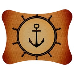 Nautical Anchor Marine Ocean Sea Jigsaw Puzzle Photo Stand (bow) by Celenk