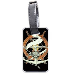 Anchor Seaman Sailor Maritime Ship Luggage Tags (two Sides)