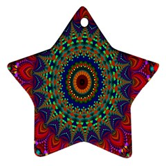 Kaleidoscope Mandala Pattern Ornament (star)