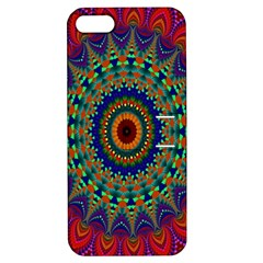 Kaleidoscope Mandala Pattern Apple Iphone 5 Hardshell Case With Stand