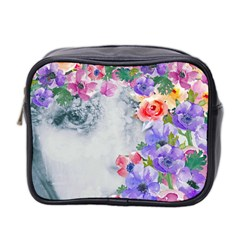 Flower Girl Mini Toiletries Bag 2 Side by 8fugoso