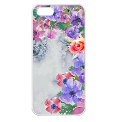 Flower Girl Apple Iphone 5 Seamless Case (white) by 8fugoso