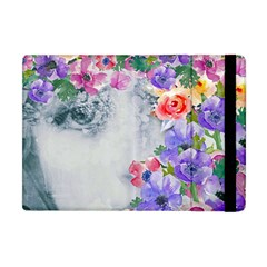 Flower Girl Apple Ipad Mini Flip Case by 8fugoso