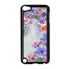 Flower Girl Apple Ipod Touch 5 Case (black) by 8fugoso