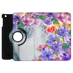 Flower Girl Apple Ipad Mini Flip 360 Case by 8fugoso
