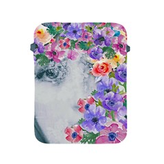 Flower Girl Apple Ipad 2/3/4 Protective Soft Cases by 8fugoso