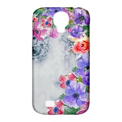 Flower Girl Samsung Galaxy S4 Classic Hardshell Case (pc+silicone) by 8fugoso