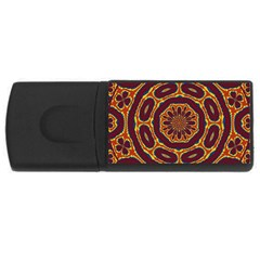 Geometric Tapestry Rectangular Usb Flash Drive by linceazul