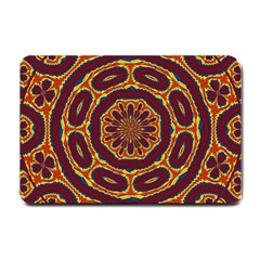 Geometric Tapestry Small Doormat  by linceazul