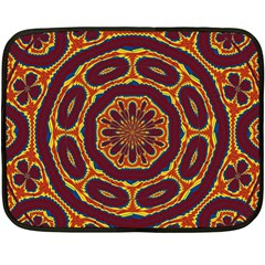 Geometric Tapestry Fleece Blanket (mini) by linceazul