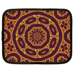 Geometric Tapestry Netbook Case (xxl)  by linceazul