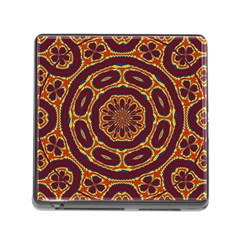 Geometric Tapestry Memory Card Reader (square) by linceazul