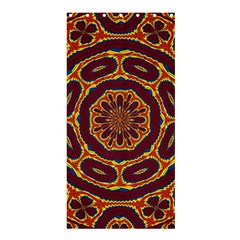 Geometric Tapestry Shower Curtain 36  X 72  (stall)  by linceazul