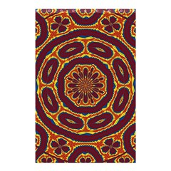 Geometric Tapestry Shower Curtain 48  X 72  (small)  by linceazul